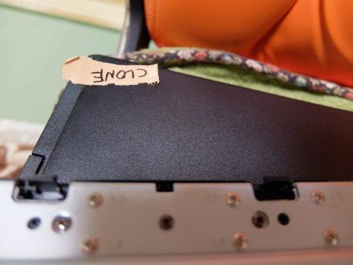 ハードディスクの取り違え防止