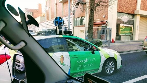 Google Map撮影車