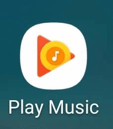 Google Play Musicアプリアイコン